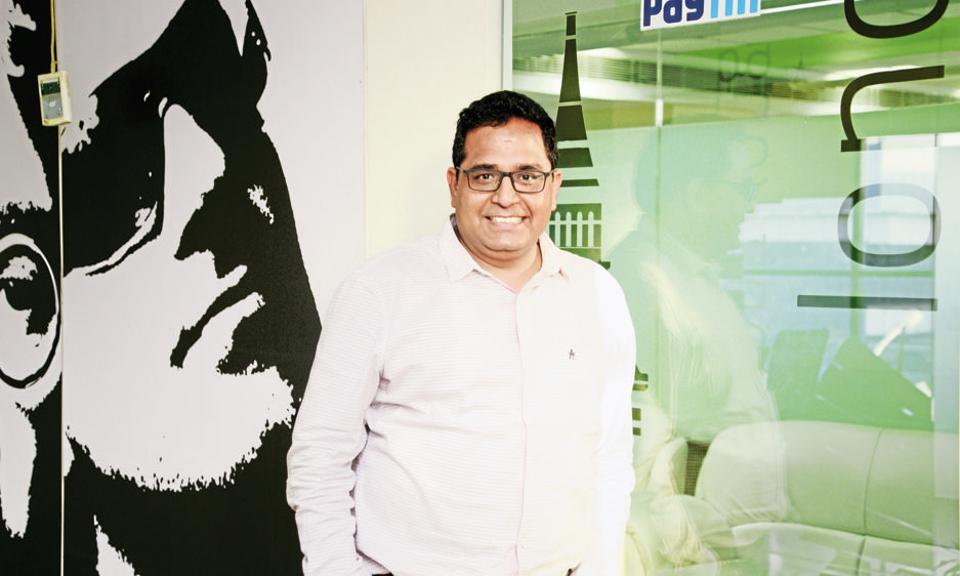 Paytm,Vijay Shekhar Sharma,One97 communications