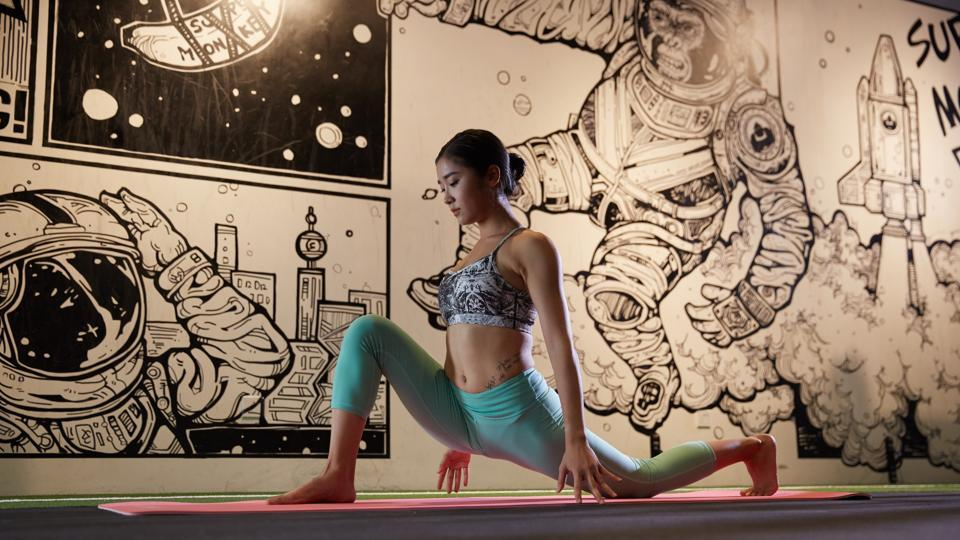 Yoga pants are a mix of nylon and Lycra — synthetic elastic fibres that provided the stretch and softness needed to manage all those sweat-inducing contortions during a lengthy session on the mat.