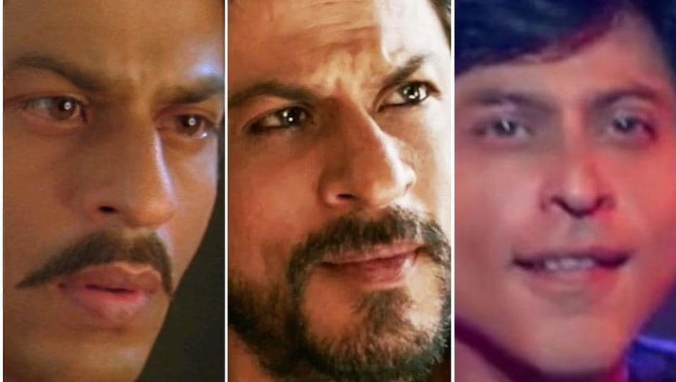 Paheli, Raees and Fan are just a few examples of Shah Rukh Khan trying to break out of his romantic hero image.