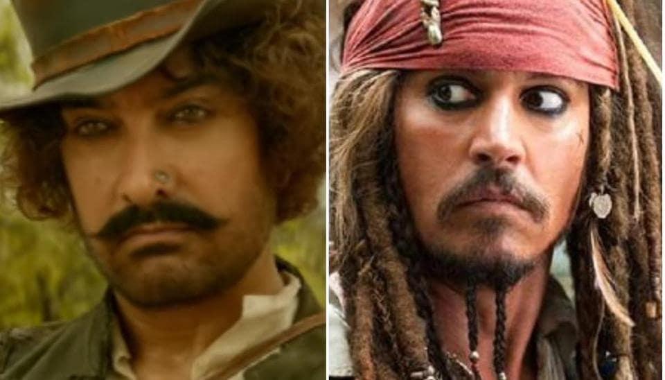 Thugs of Hindostan,Aamir Khan,Johnny Depp