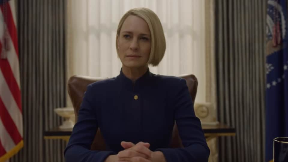 House of Cards season 6 review: Robin Wright's arc reaches a crescendo, but can't erase the memory of Kevin Spacey.