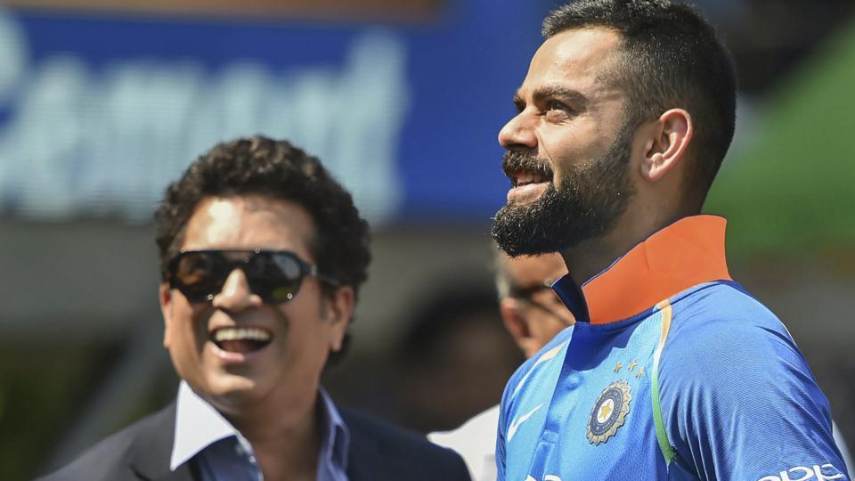sachin Tendulkar,Virat Kohli,India vs Australia