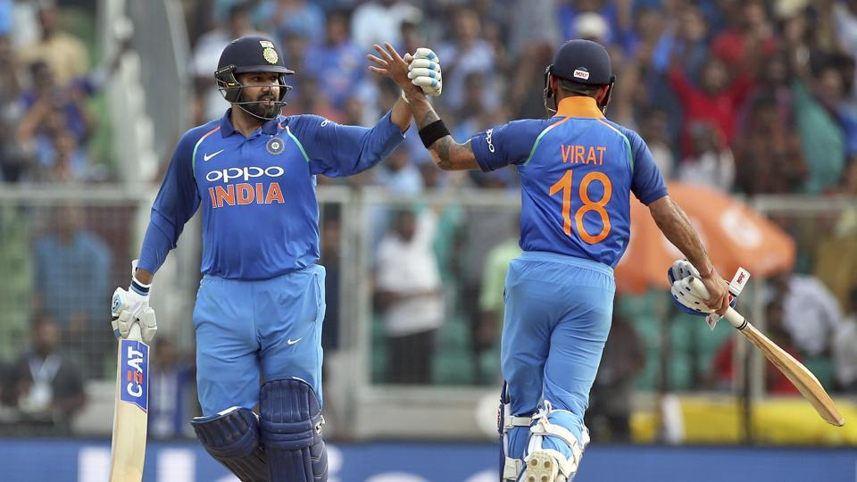 Virat Kohli and Rohit Sharma (photo - getty)