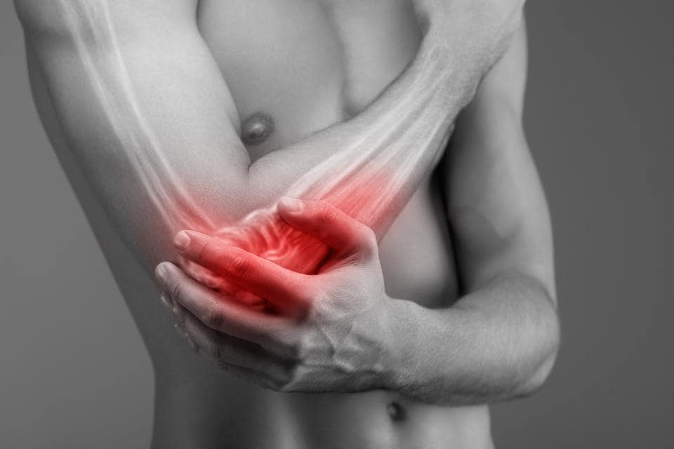 Tennis elbow is a layman's term for pain in the outside or lateral part of the elbow