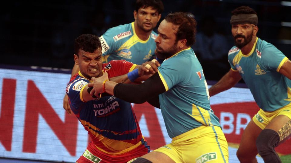 Tamil Thalaivas defeated UP Yoddha 46-24 to end their losing streak