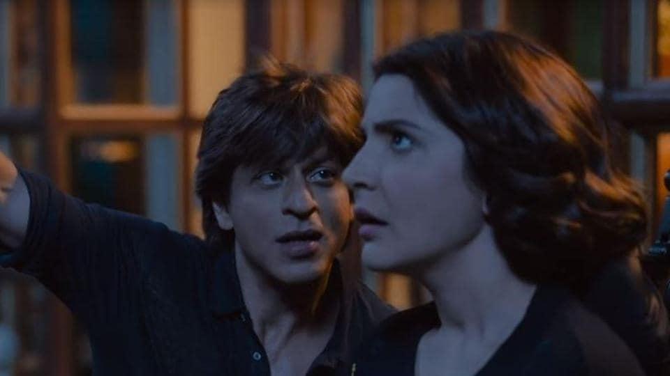 a6caa4a79f Zero trailer has Shah Rukh Khan romancing Anushka Sharma to the moon and  back.