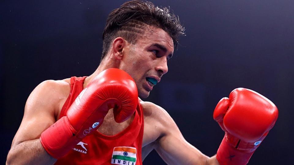 Manish Kaushik,Gaurav Bidhuri,National Boxing Championships