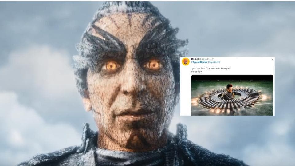 Rajinikanth and Akshay Kumar's 2.0 trailer has inspired the best memes on Twitter. Check them out here.
