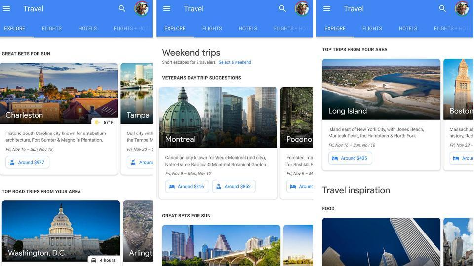 From airlines, hotels to activities Google knows all about your travel plans.