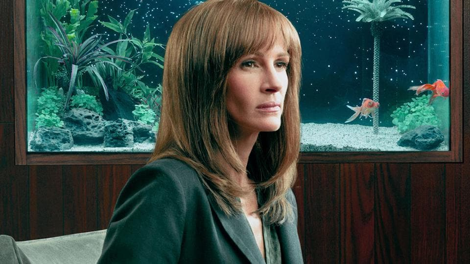 Homecoming review: Julia Roberts' splashy television debut is a mindbending satire.