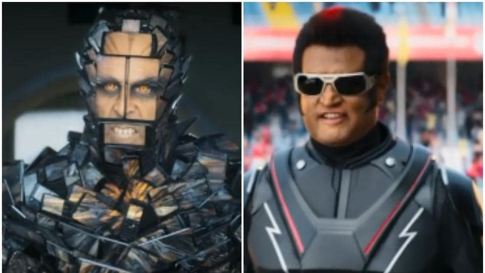 2.0 trailer,Rajinikanth film,Akshay Kumar Fifth Force Chitti