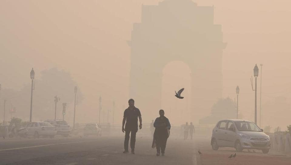 Smog blankets landmarks like India Gate in winter, delaying flights at the airport due to poor visibility and significantly bringing down Delhi's air quality standards.
