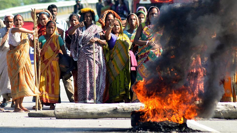 The shutdown mostly affected life in Barak Valley, which is predominantly inhabited by Bengali-speaking people, and parts of the Brahmaputra Valley, officials said.