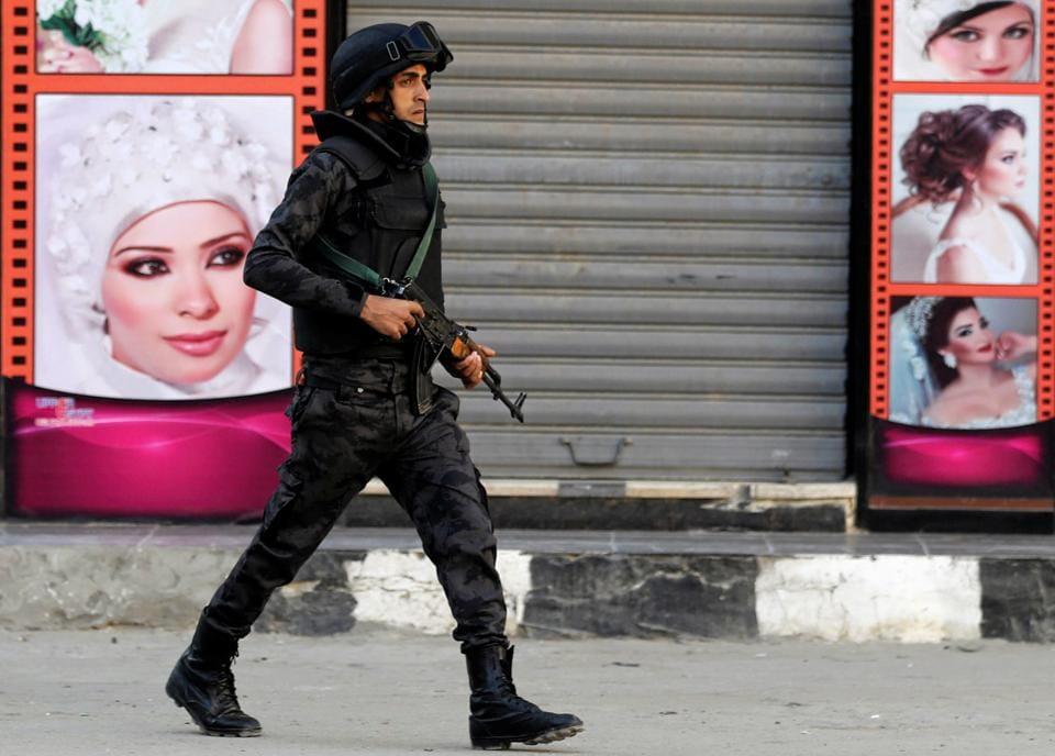 Egypt,jihadist suspects,attack on Coptic Christians