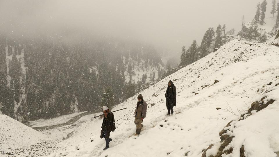 Snowfall,power,Kashmir