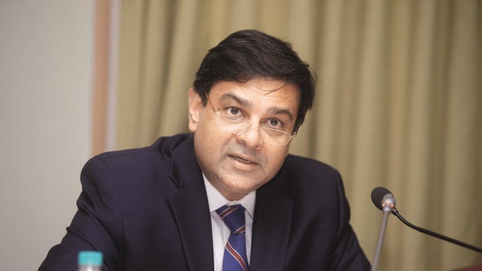 RBI governor Urjit Patel at RBI headquarters in Mumbai .