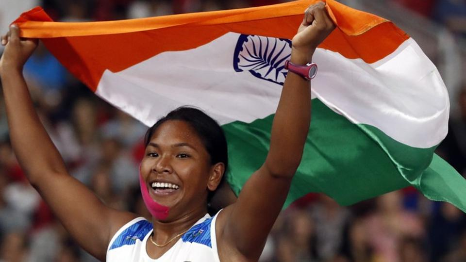 Swapna Barman became first Indian to secure a gold medal in heptathlon at the Asian Games 2018.