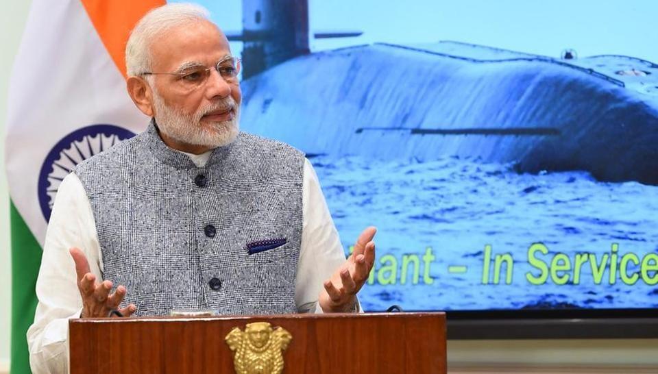 Narendra Modi,INS Arihant