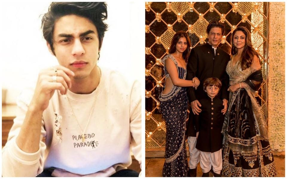 Aryan Khan was missing at Shah Rukh Khan and Gauri's star-studded Diwali bash.