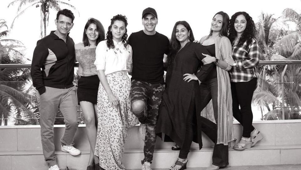 Akshay Kumar will be working with Taapsee Pannu, Vidya Balan, Sonakshi Sinha, Nithya Menen and others.