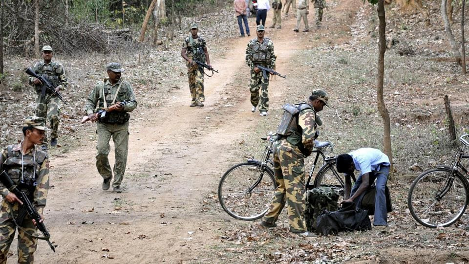 Five Maoists, including two women, were gunned down on Monday by police in a forested area of Odisha's Malkangiri district bordering Andhra Pradesh, officials said, in one of the heaviest casualty tolls suffered by the insurgents in the last three years. (Sasanka Sen / AP File)