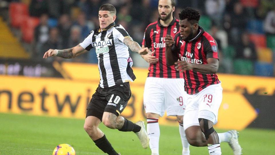 champions league,ac milan,udinese