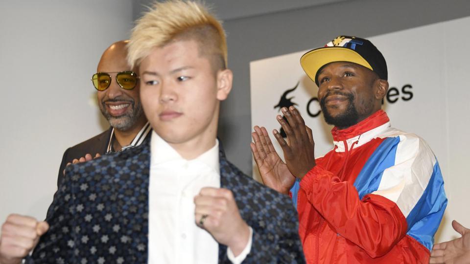 Floyd Mayweather,Tenshin Nasukawa,Kickboxing