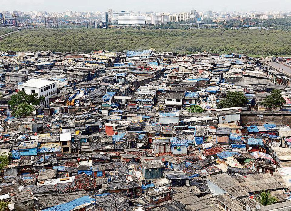 An overview of  Dharavi,  one of the largest slum pockets in Asia.  In India there isn't enough data on the path out of 'slumhood' to 'neighbourhood'