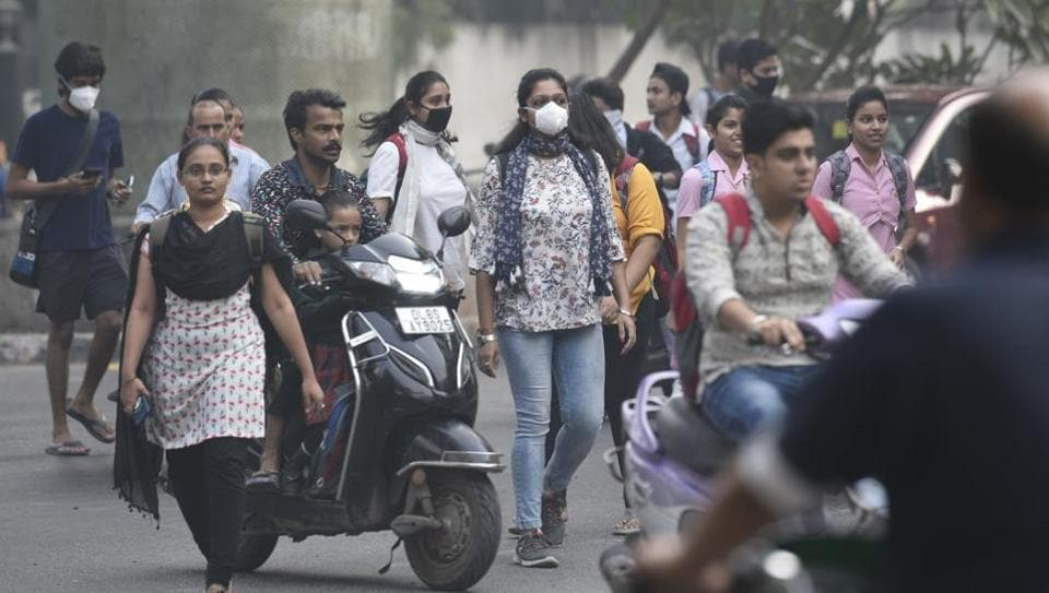 Delhi air pollution,Delhi air quality,Delhi smog