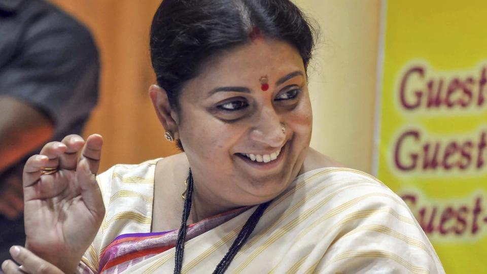 smriti irani,amethi,BJP women workers