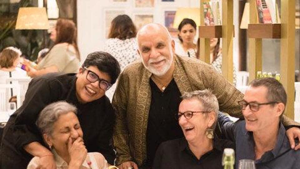 Ritu Dalmia (second from left) at the launch of Diva in Goa