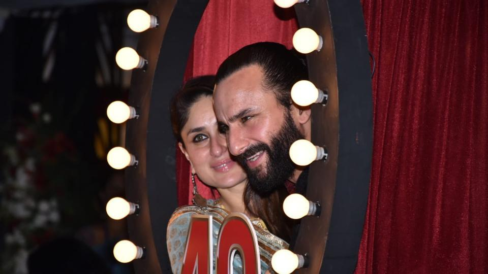 Kareena Kapoor, Saif Ali Khan lead the Kapoor family at Prithvi Theatre's  40th anniversary party