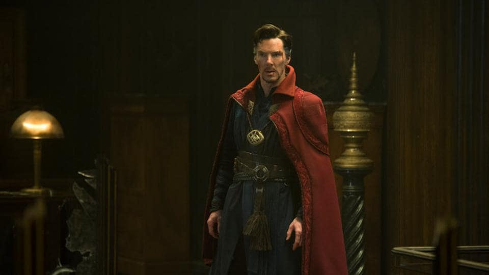 Benedict Cumberbatch plays Dr Stephen Strange in the Marvel Cinematic Universe.