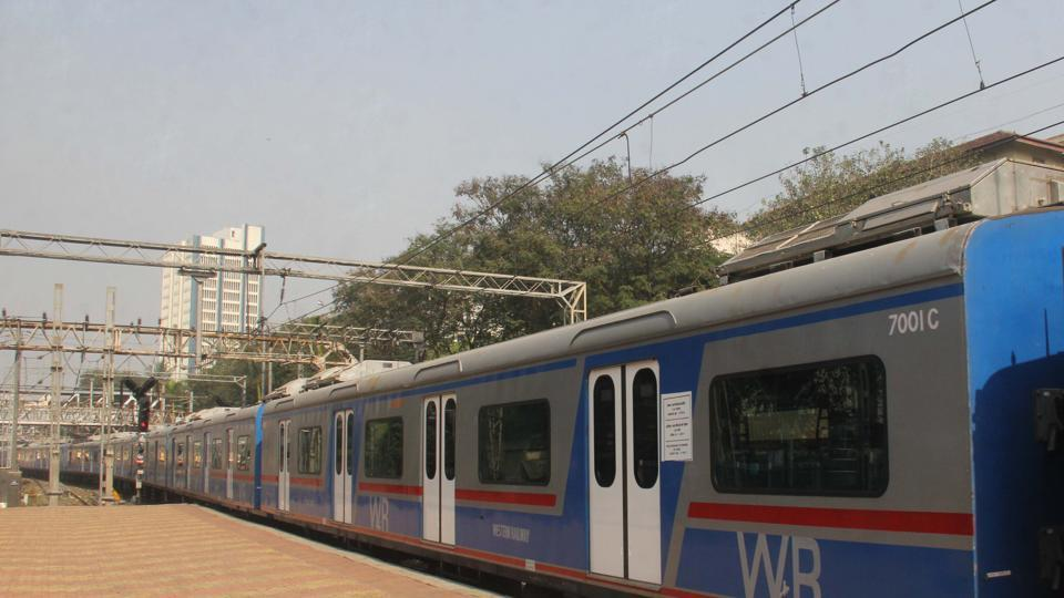 AC local halts for close to a minute owing to their doors, delaying regular suburban trains on the same corridor.