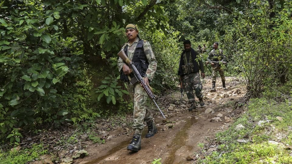 "Sixty-two ""hardcore Naxals"" surrendered before security forces in Chhattisgarh on Tuesday, police in the poll-bound state said, a development Union Home Minister Rajnath Singh described as a ""huge achievement"". Of the 62 Naxals, 55 surrendered with their arms and ammunition in Narayanpur district, Inspector General of Police (Bastar) Vivekanand Sinha told PTI. (PTI File)"