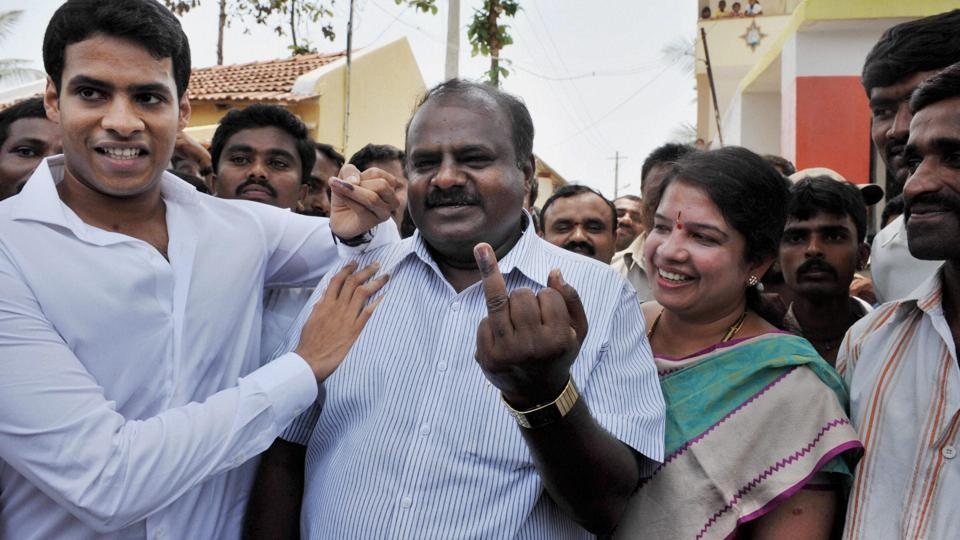 Congress,BJP,Kumaraswamy