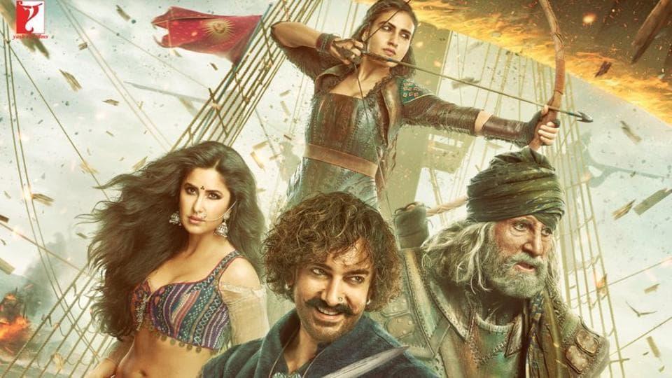 Aamir Khan, Amitabh Bachchan, Katrina Kaif and Fatima Sana Shaikh's Thugs of Hindostan will release on Thursday.