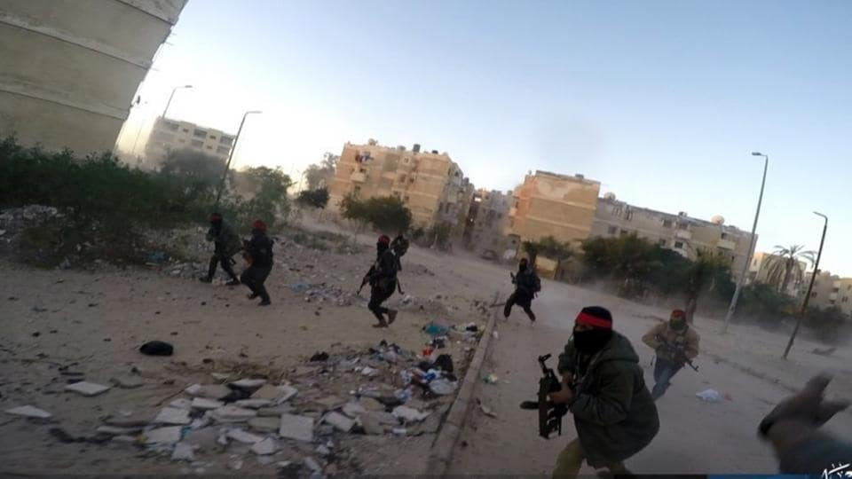 "Egypt's army launched a major offensive in February dubbed ""Sinai 2018"" to dislodge the insurgents from the peninsula. More than 450 suspected jihadists and around 30 Egyptian soldiers have been killed since the offensive began, the army said in October."