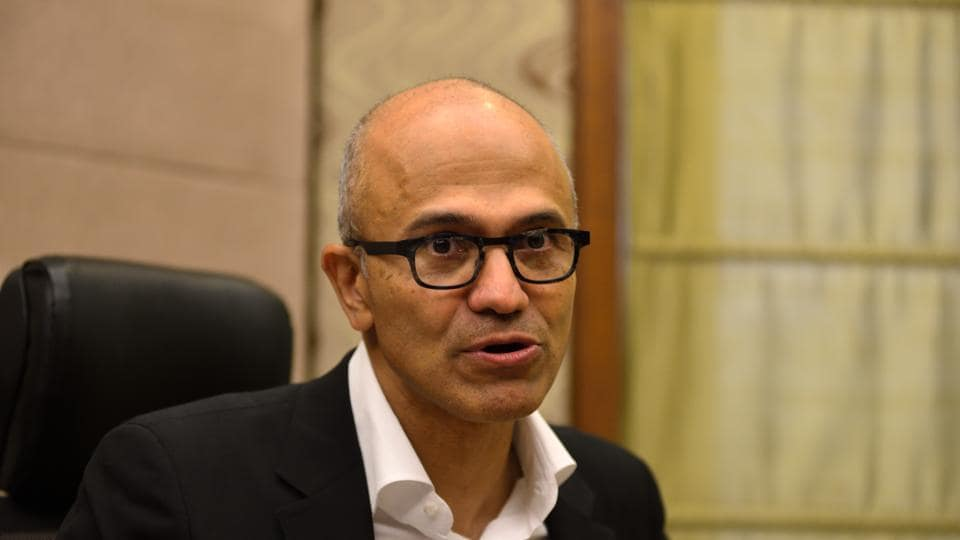 Nadella applauded the European Union's General Data Protection Regulation (GDPR) as first step towards securing data privacy.