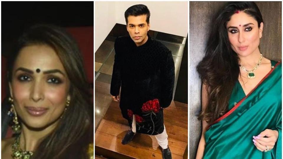 Karan Johar Diwali party,Kareena Kapoor Khan,Malaika Arora