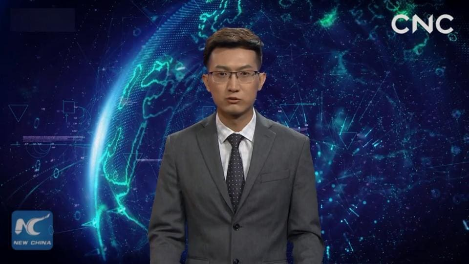 China Unveils World's First AI News Anchor That Looks Like Human