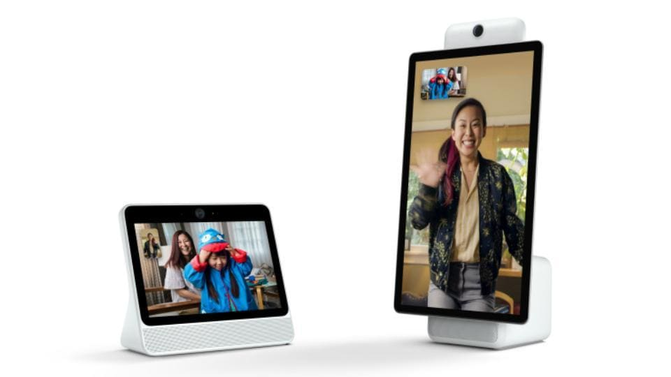Facebook Portal starts at $199 for the smaller model in the US.