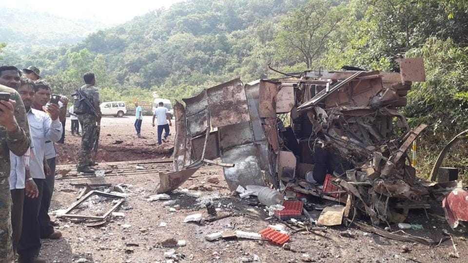 Chhattisgarh,Chhattisgarh blast,Maoists
