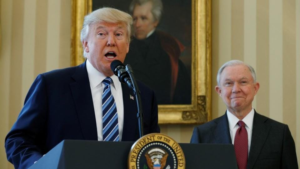 Donald Trump,Jeff Sessions,mid-term elections
