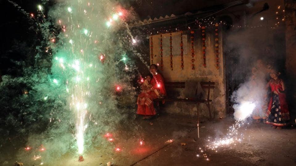 Meerut,Diwali,Firecracker