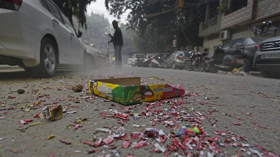 Most cities across the country failed to enforce the Supreme Court order to burst firecrackers only within a two-hour window.