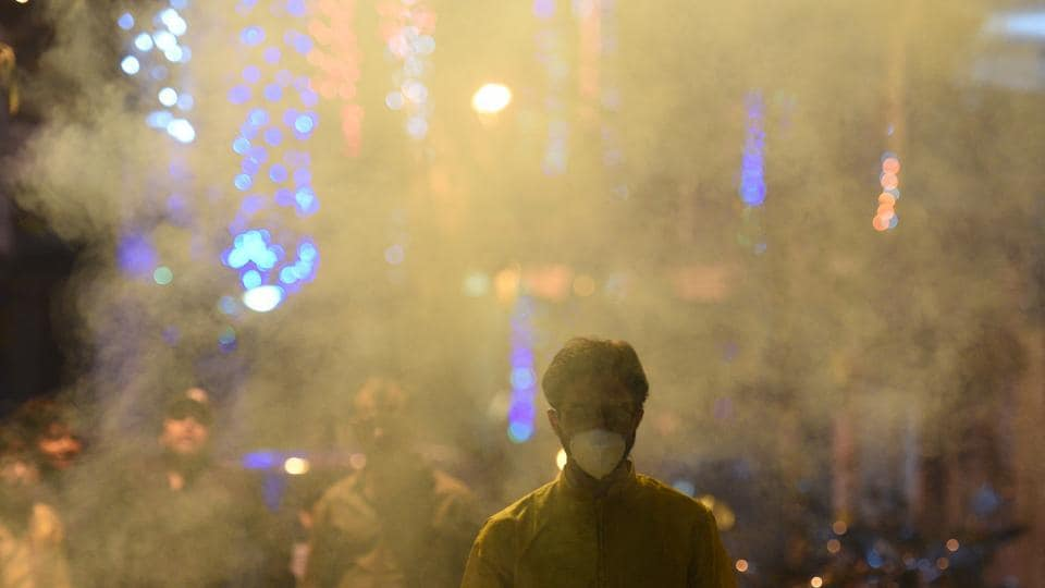 Delhi's air quality worsened through the day and went off the charts by the evening as the city recorded its worst quality air of the year the morning after Diwali, authorities said Thursday.