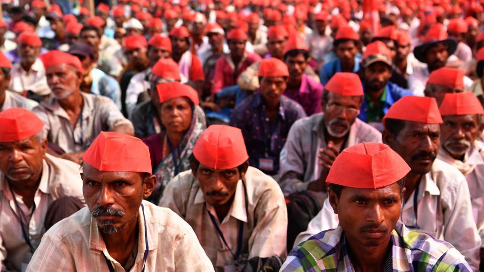 Farmer rally,farmer meet,Mumbai farmers