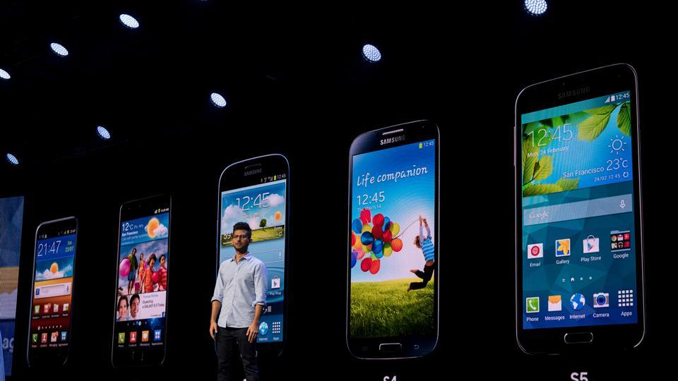 Hassan Anjum, director of product marketing for Samsung Electronics Co., speaks during the Samsung Developers Conference in San Francisco, California, U.S., on Wednesday, Nov. 7, 2018.
