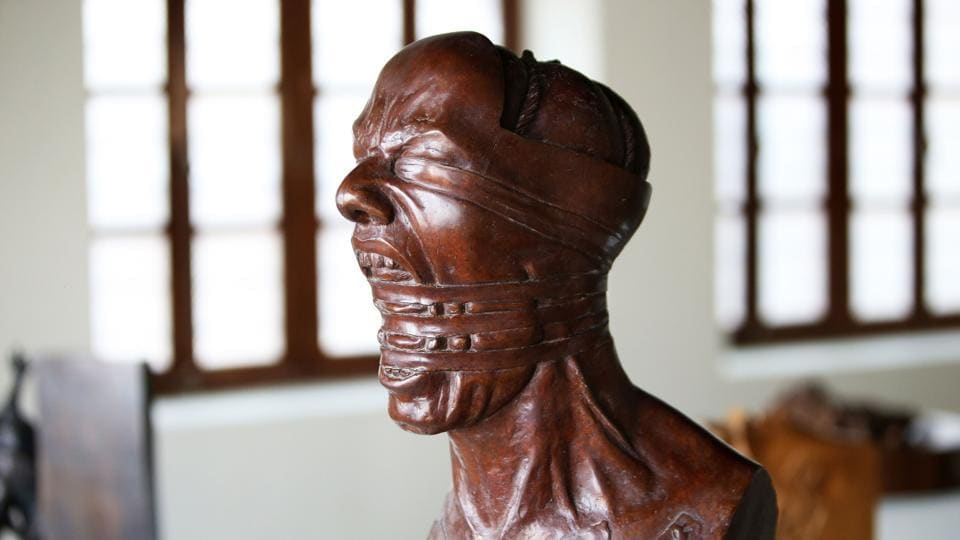 In pics: These modern sculptors, their statues are forbidden in